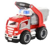 Žaislinė gaisrinė mašina 28 cm | Sensational GripTruck Fire Truck | Wader