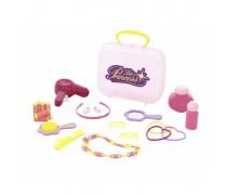 Žaislinis plaukų priežiūros rinkinys lagamine | Little Princess | Wader