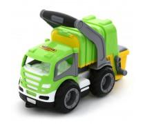 Žaislinė šiukšliavežė su rankena | GripTruck | Wader 6257