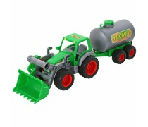 Žaislinis traktorius su cisterna | Wader 8794