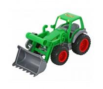 Žaislinis traktorius su guminiais ratais | Wader