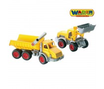 Žaislinis transporto priemonių rinkinys 2 vnt | Wader 38159