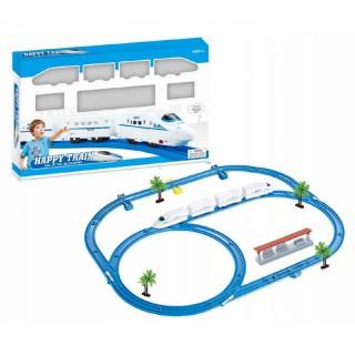 Elektrinis traukinys 33 detalės | Happy Train | Woopie 102436