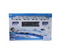 Elektrinis traukinys su šviesos ir garso efektais 28 detalės | Happy Train | Woopie 102443