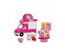 Kaladėlių rinkinys 26 vnt. | Ledų parduotuvė Hello Kitty | Big 57148