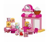 Kaladėlių rinkinys 45 vnt. | Kavinė Hello Kitty | Big 57149