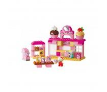 Kaladėlių rinkinys 82 vnt. | Cukrainė Hello Kitty | Big 57150