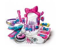 Žvaigždžių šukuosenų salonas - kirpykla su veidrodžiu ir priedais | CRAZY CHIC | Clementoni 78420
