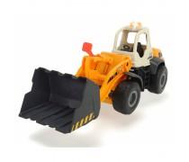 Žaislinis buldozeris 35 cm su šviesos ir garso efektais | Road Loader | Dickie 3726000