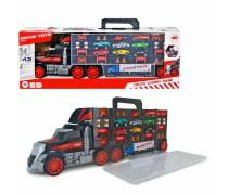 Sunkvežimis vilkikas - lagaminas transporteris su mašinėlėmis | 2in1 | Dickie 3749023
