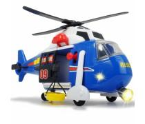 Gelbėtojų sraigtasparnis 41 cm su šviesos ir garso efektais | Resgue Helicopter | Dickie 3308356