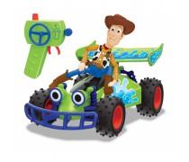 Nuotoliniu pultu valdomas Buggy automobilis su Vudžio figūrėle | Žaislų istorija 4 | Dickie 3154001