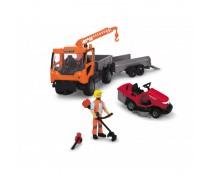 Sunkvežimis su sodininko įranga | Ladog Gardener Set | Dickie 3838006