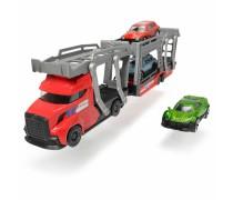 Sunkvežimis - vilkikas 30 cm su 3 automobiliais | Dickie 3745008_CZE