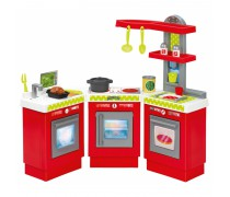 Didelė modulinė virtuvėlė su priedais 21 vnt | Chef | Ecoiffier 01623