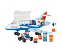Didelis 52 cm lėktuvas su figūrėlėmis | Abrick | Ecoiffier 3155