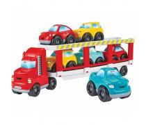 Mašina vilkikas 41 cm su 6 mašinėlėmis | Ecoiffier 3289