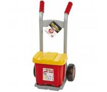 Mechaniko rinkinys vežimėlyje su priedais 20 vnt. | Ecoiffier 02381