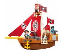 Piratų laivas | Kaladėlės 23 detalės | Ecoiffier 3023