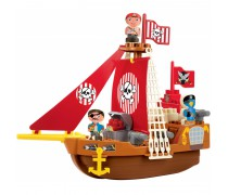 Piratų laivas | Konstruktorius 23 detalės | Ecoiffier 3023