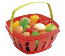 Vaisiai ir daržovės krepšelyje | Ecoiffier 966
