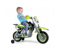 Akumuliatorinis motociklas - vaikams 3-7 m. | 6V Rider Cross | Feber 12223