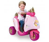 Akumuliatorinis triratis motociklas 6V Disnėjaus princesė | Disney Princess | Feber 12575