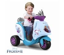 Akumuliatorinis triratis motociklas 6V Ledo šalis - vaikams 1-4 m. | Frozen | Feber 12446