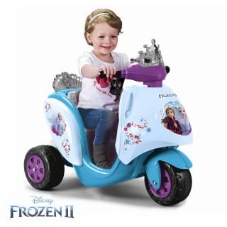 Akumuliatorinis triratis motociklas 6V Ledo šalis   Frozen   Feber 12446