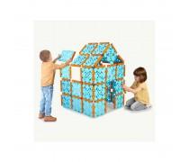 Dideli statybiniai blokai - kaladėlės 132 detalės | Builder | Feber 12608