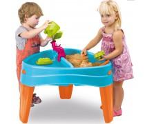 Smėlio ir vandens stalas su dangčiu   Play Island   Feber 10238