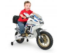 Akumuliatorinis motociklas - vaikams nuo 3 m.   Honda Africa 6V   Injusa 6820
