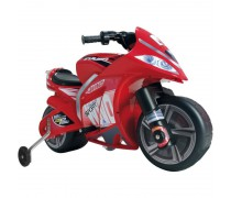 Akumuliatorinis motociklas - vaikams nuo 3 m. | 6V WIND | Injusa 646
