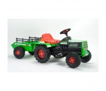 Akumuliatorinis traktorius su priekaba - vaikams nuo 3 m. | Basic 6V | Injusa 636