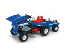 Akumuliatorinis traktorius su priekaba - vaikams nuo 3 m. | Dump 12V | Injusa 637