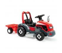 Akumuliatorinis traktorius su priekaba 6V - vaikams nuo 1 iki 3 m. | 2in1 | Injusa 1505