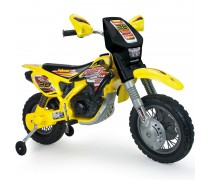 Akumuliatorinis motociklas - vaikams nuo 3 m.| Cross Drift Thunder Max 12V | Injusa 6811