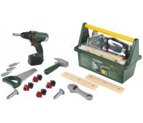 Vaikiška įrankių dėžė su elektriniu atsuktuvu | Bosch | Klein 8520