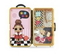 Interaktyvus žaidimas - stiliaus lagaminas su LOL lėle | Lol Surprise Lady Boss | MGA 560418