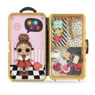 Interaktyvus žaidimas - stiliaus lagaminas su LOL lėle   Lol Surprise Lady Boss   MGA 560418
