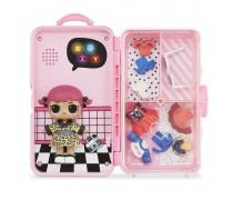 Interaktyvus žaidimas - stiliaus lagaminas su LOL lėle | Cherry | MGA 560425