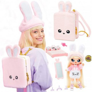 Rožinė kuprinė su lėlyte ir priedais   LOL Suprise   MGA Entertainment 569732