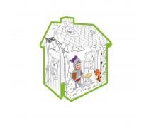 Spalvinamas kartoninis namas | Riteris | Mochtoys 11123
