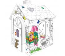 Spalvinamas kartoninis namas | Mochtoys 10721