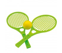 Teniso raketės su kamuoliuku | Žalios | Mochtoys 5055_ZIE