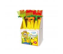 Vaikiški sodininko įrankiai 24 vnt. | Mochtoys 10854_DISPLAY