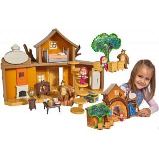 Mašos ir lokio namas su priedais | Maša ir lokys | Simba 9301032