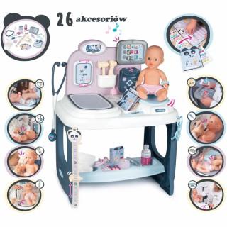 Gydytojo priežiūros rinkinys su priedais 26 vnt. | Baby Care Centrum | Smoby 240302