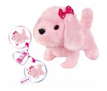 Interaktyvus pliušinis rožinis šuniukas | Chi Chi Love | Simba 5893237