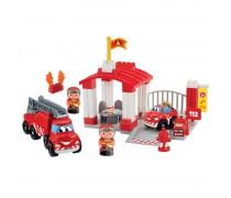 Kaladėlių rinkinys su mašinėlėmis – ugniagesių stotis | Abrick | Ecoiffier 3014